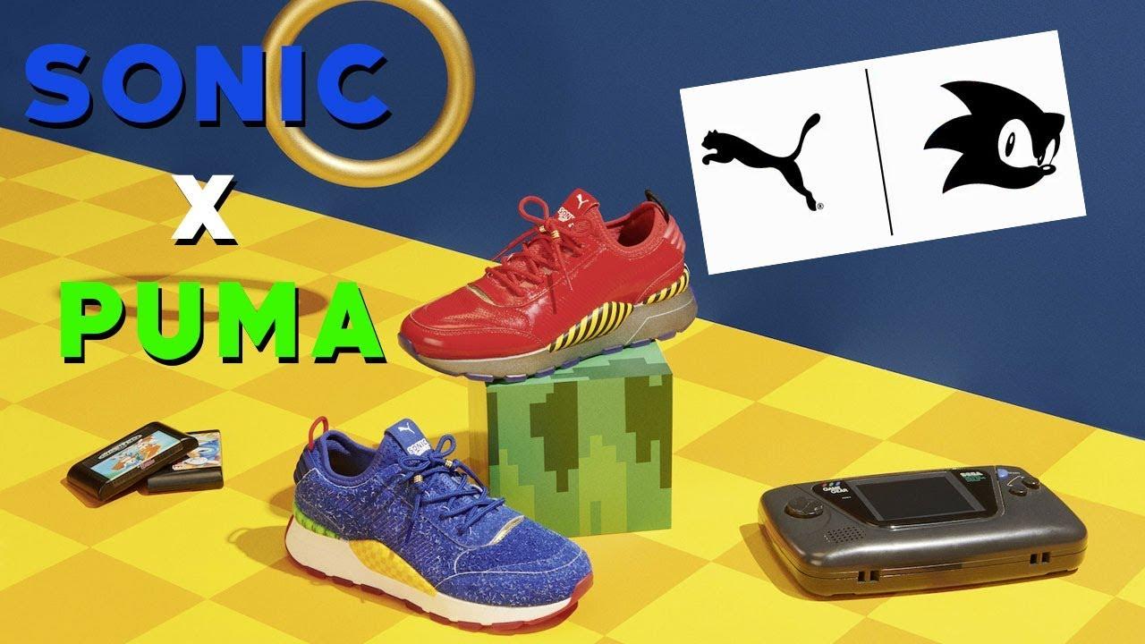 64422c46ef6 PUMA x SEGA Collab for Sonic   Dr. Eggman RS-0 s - YouTube