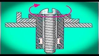 видео Ремонт заклепочных и резьбовых соединений