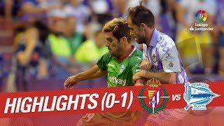 Resumen de Real Valladolid vs Deportivo Alavés (0-1)