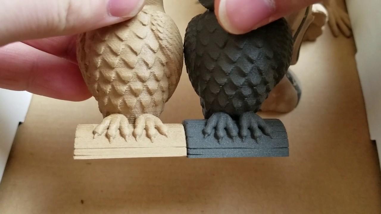3d Printer Filaments Hatchbox Wood Pla And Proto Pasta