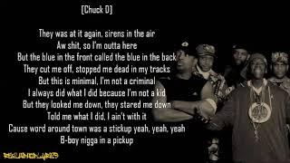 Public Enemy - Get the Fuck Outta Dodge ft. True Mathematics (Lyrics)