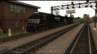 Trainz 12 NS Yard Job Cabride