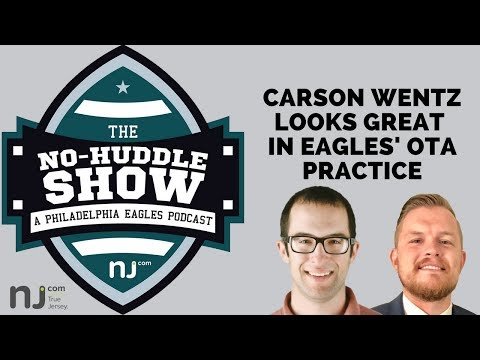 Carson Wentz looks great, and other Eagles observations from OTAs