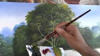 Dica para pintar árvores