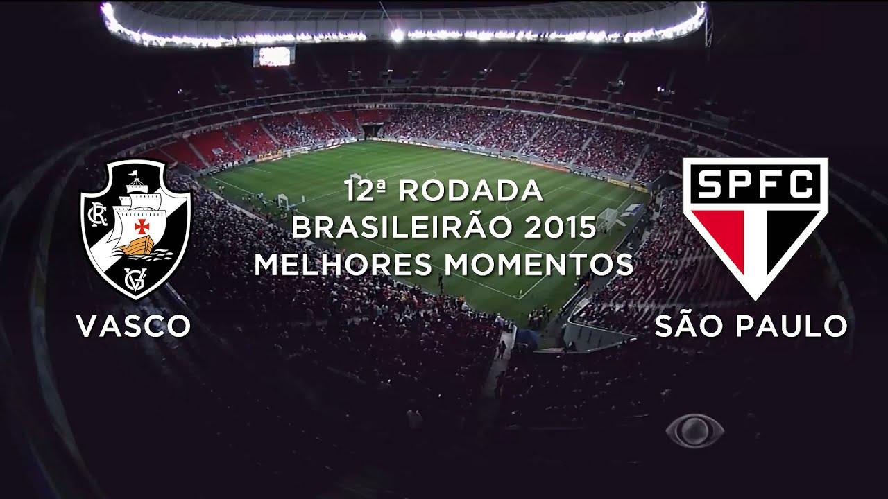 Melhores Momentos - Vasco 0 x 4 São Paulo - Brasileirão - 08 07 2015 ... 5e4fa04461ed7