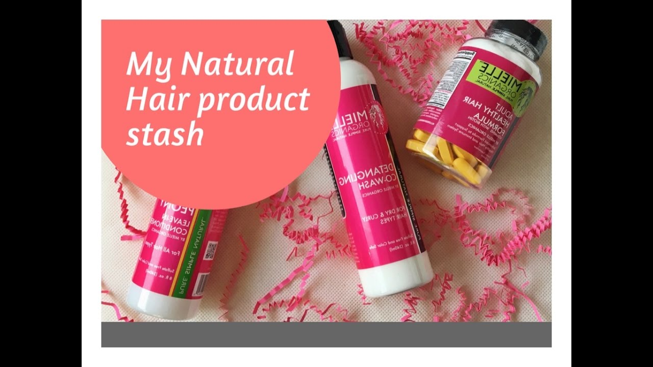 Natural Hair Product Collection ( Storage/ Organization)