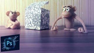 Уроки фотошоп: как сделать коробку со своей картинкой(, 2017-02-23T13:53:39.000Z)