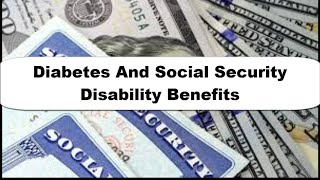 Diabetes And Social Security Disability Free Recourse