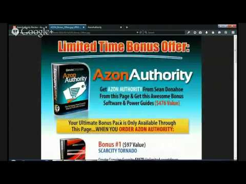 AzonAuthority Review - Azon Authority Bonus