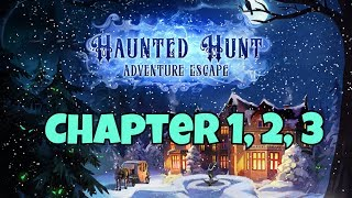 HAUNTED HUNT ADVENTURE ESCAPE (Haiku) Chapter 1, 2, 3 Level Walkthrough Android / iOS Gameplay