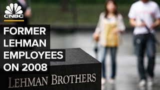 Former Lehman Brothers Employees On The Crisis