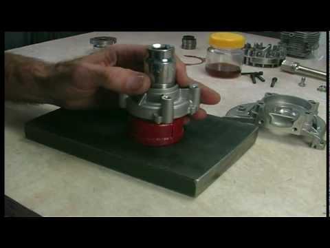 Part 6 - Zenoah RC engines crank bearings renewal - FITTING NEW BEARINGS & CRANK END PLAY ADJUST