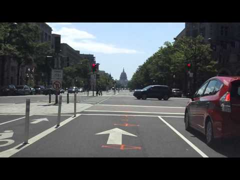 Washington, D.C. Downtown Street Tour (Part 1 of 2)