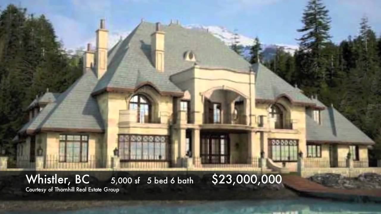 8 most expensive homes in canada luxury real estate Canadian houses