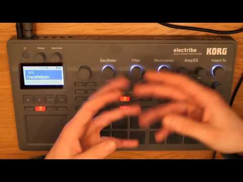 Korg electribe 2 basics   Part 1/5  16 musicians in a little box