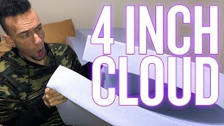 UNBOXING | Mecor 4 Inch Lavender Infused Memory Foam Mattress Topper