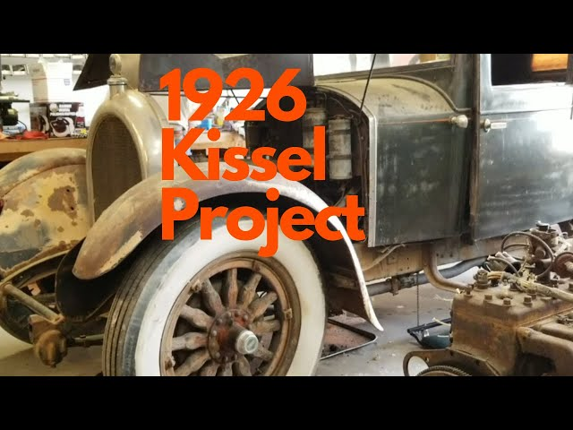 Introduction to DnT TV's 1926 Kissel Project - 1926 Kissel 6-55 Brougham, Part I