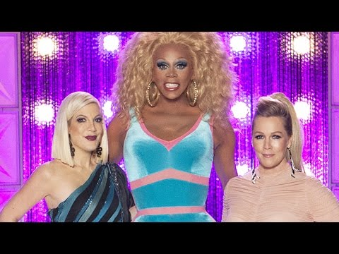 'RuPaul's Drag Race': Why Jennie Garth and Tori Spelling Threw Shade at Tiffani Amber Thiessen