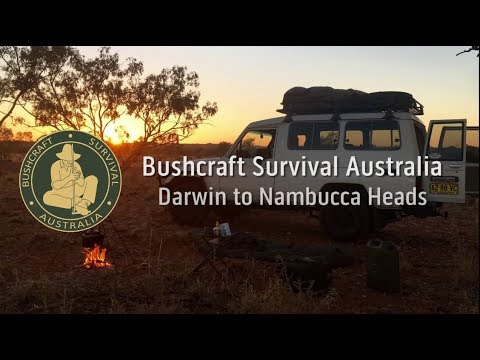 Bushcraft Survival Australia -  Troopy Trip Darwin to Nambucca Heads - nambucca