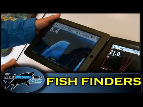Charter boat fish finder reviews by The Totally Awesome Fishing Show