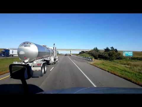 Bigrigtravels Live! - Aurora to Omaha, Nebraska - Interstate 80 - September 29, 2016