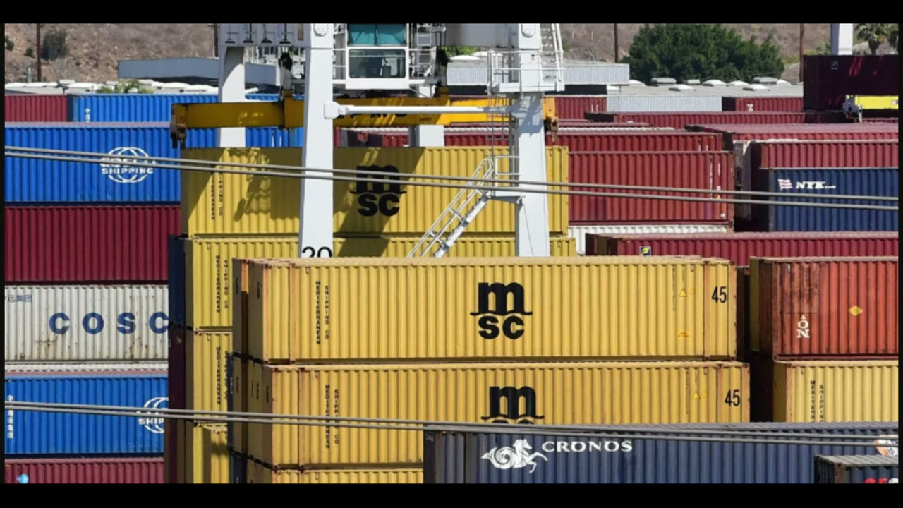 Shipping Containers Are Piling Up Worldwide