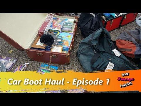 Car Boot Haul   Episode 1