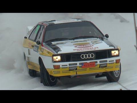 Rally Sweden 2018 - Historic!