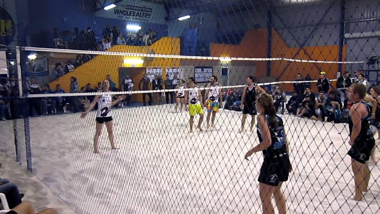Indoor Rebound Beach Volleyball Nationals Mixed Grand Final 2017 4 You