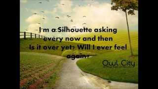 Silhouette (lyrics) - Owl city