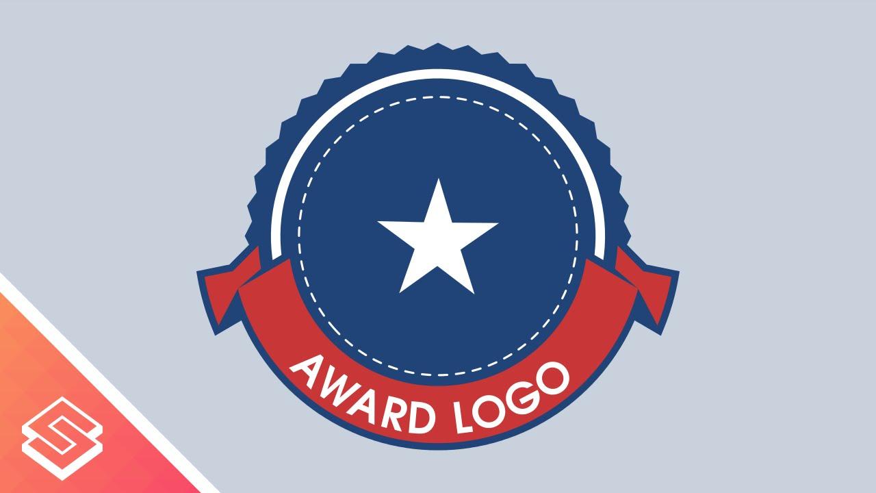 inkscape tutorial circular ribbon with text award logo youtube