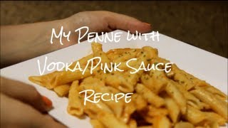 Penne With Pink/vodka Sauce Recipe