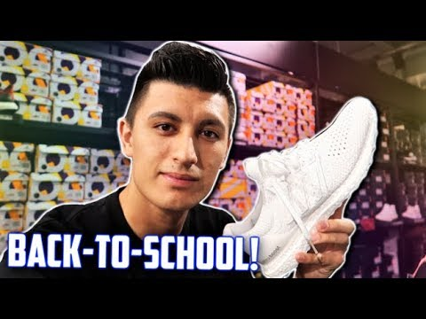Adidas OUTLET! SO MUCH ULTRABOOST! Back to school Sneaker Shopping!