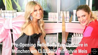 HelloBody Pre-Opening des 1. Pop-Up Stores mit Sylvie Meis