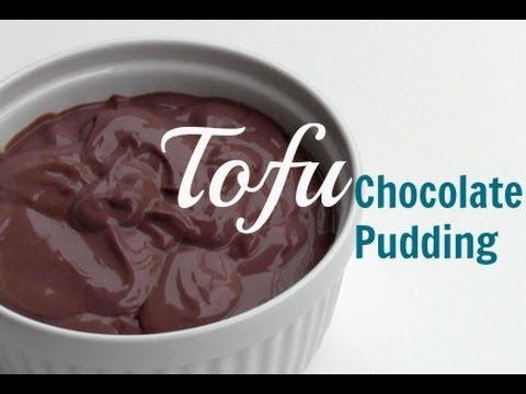 Vegan Tofu Chocolate Pudding - YouTube