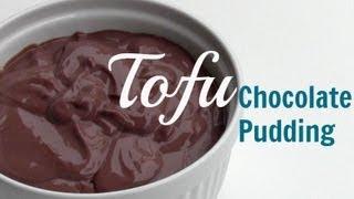 Vegan Tofu Chocolate Pudding