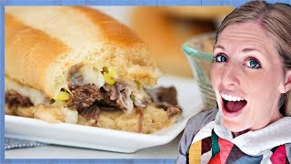 Instant Pot French Dip Sandwiches (2 INGREDIENTS!)