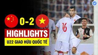 Highlights Trung Quốc 0-2 Việt Nam | Tiến Linh hóa CR7 lập cú đúp - Trung Quốc thua đau tại sân nhà