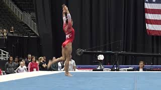 Konnor McClain– Floor Exercise – 2019 U.S. Gymnastics Championships – Junior Women Day 1