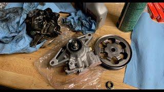 Honda Civic Power Steering Pump Replacement 1.8L 2006-2011