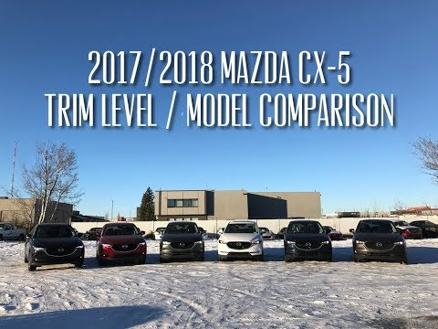 2017/2018 Mazda CX-5 Models Comparison