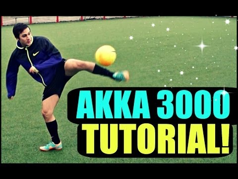 "Football Skill Tutorial #10 ""AKKA 3000"" ★ Ronaldo/Messi/Neymar Skills (How To Do)"