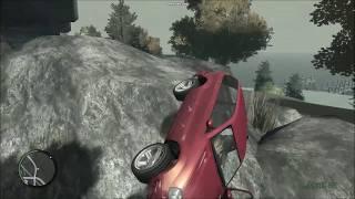 GTA IV- Slow Motion Crashes HD