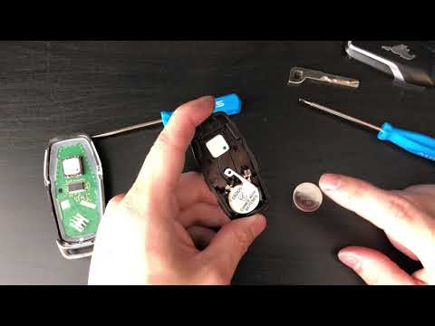 Replace Mustang Key fob/Remote Battery