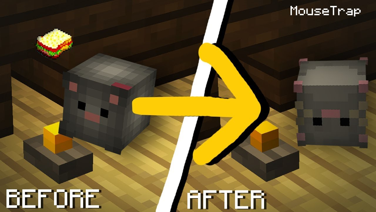 how to make a mousetrap in minecraft