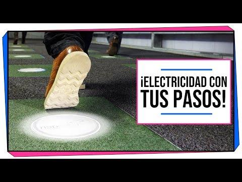 CIENCIA A LA MEXICANA   ¡Genera electricidad con tus pasos!