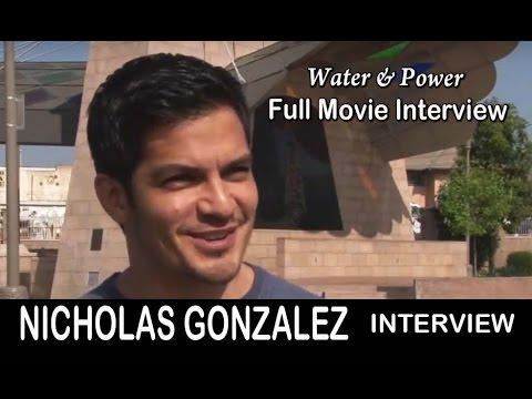 Nicholas Gonzalez: Water and Power Movie Interview - Full