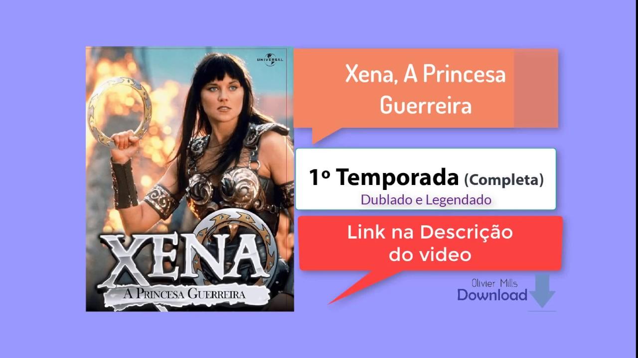 xena a princesa guerreira legendado