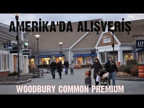 Amerika'da Alışveriş ~ Woodbury Common Premium Outlets