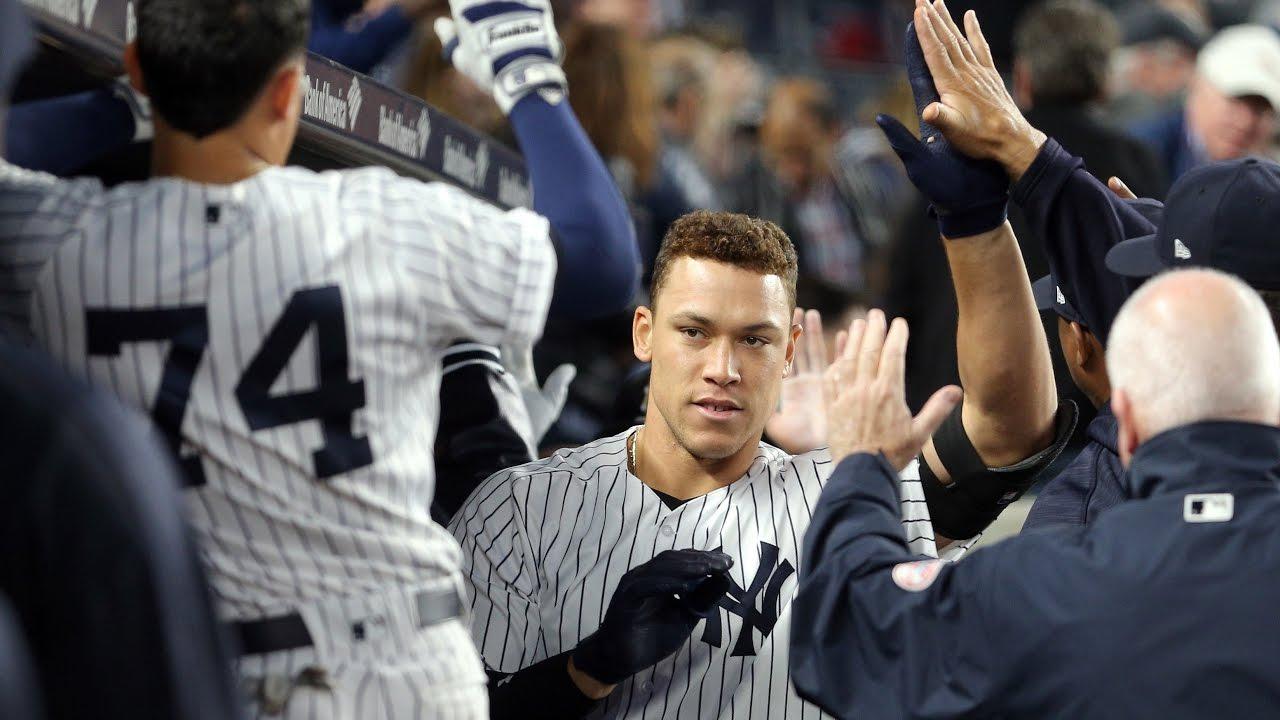 Watch Yankees rookie Aaron Judge reclaim home run lead with No. 17